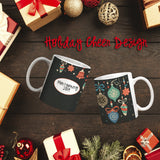 Holiday Cheer Personalized Coffee Cups