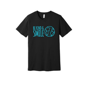 Be Kind and Smile T-Shirt in Black
