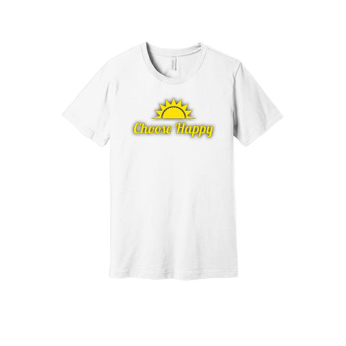 Choose Happy T-Shirt in White