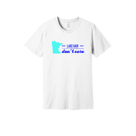 Lake Hair Don't Care Minnesota T-Shirt in White