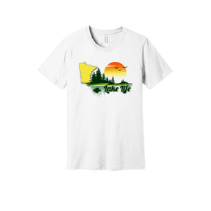 Lake Life MN T-Shirt in White