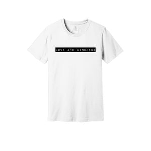 Love and Kindness T-Shirt in White