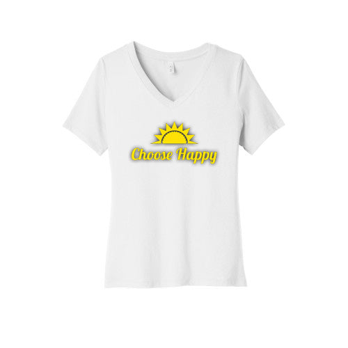 Choose Happy V-Neck T-Shirt