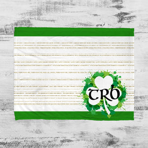 Irish Paint Personalized Super Soft Blanket