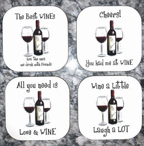 Coasters - Wine Themed