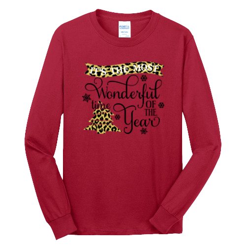 Most Wonderful Time Holiday Shirt