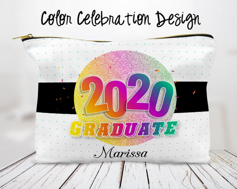Color Celebration Custom Cosmetic Bag