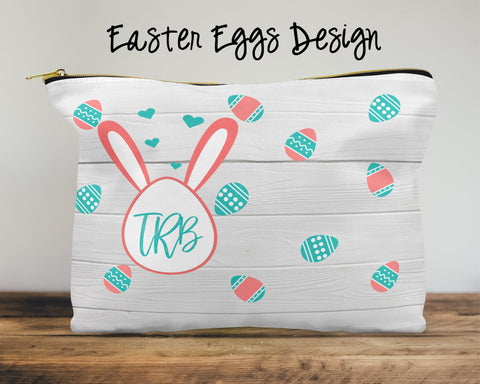 Easter Eggs Custom Cosmetic Bag