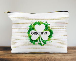 Irish Paint Custom Cosmetic Bag