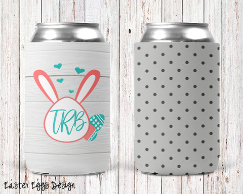 Easter Eggs Personalized Can Cooler