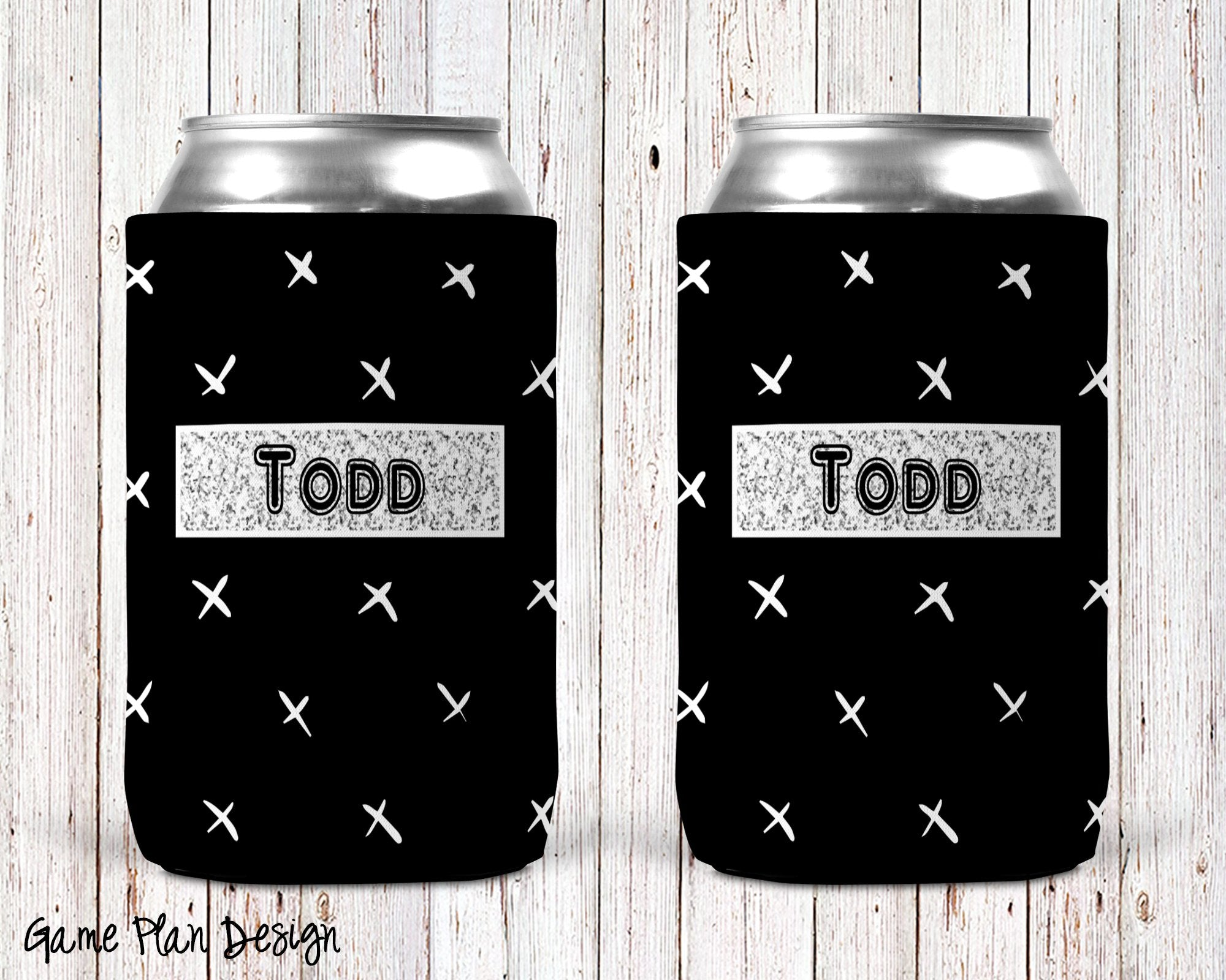 Game Plan Personalized Can Cooler