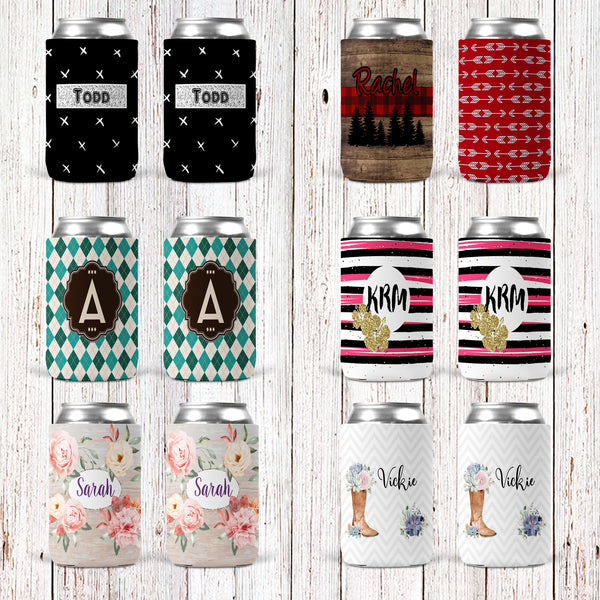 Personalized Can Coolers