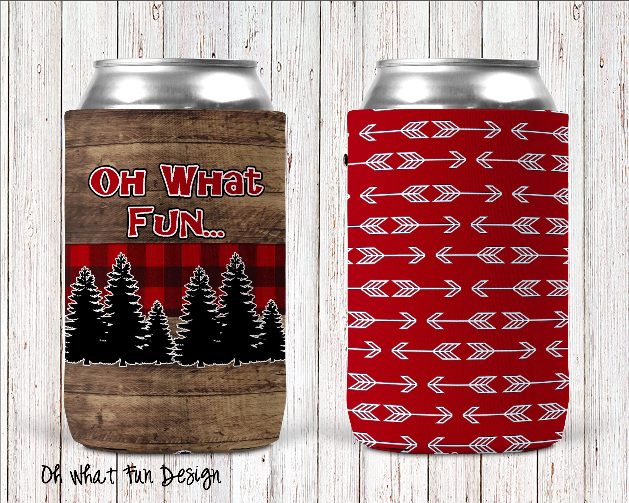 Can Cooler - Oh What Fun