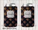 Holiday Personalized Can Cooler