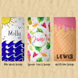 Personalized Premium Beach Towel