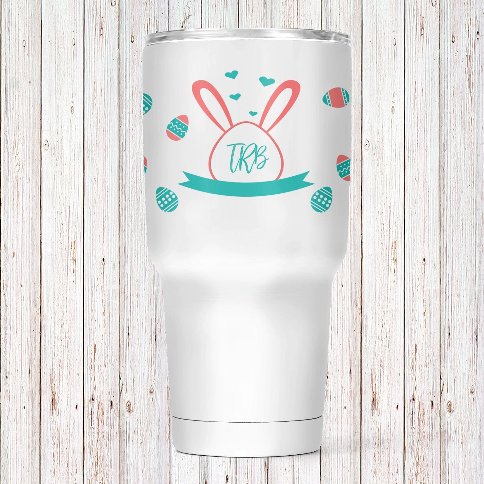 Easter Eggs Personalized Insulated Tumbler