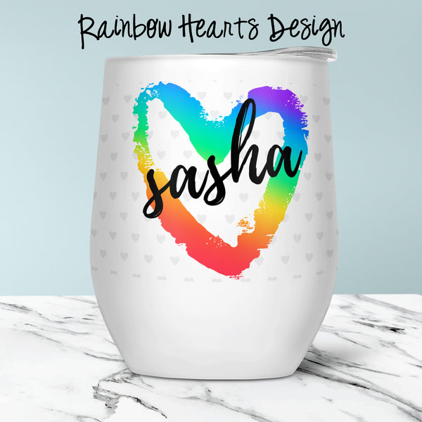 Custom Stemless Wine Glasses