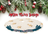 Personalized Holiday Tree Skirt