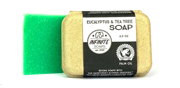 sustainable vegan eucalyptus soap
