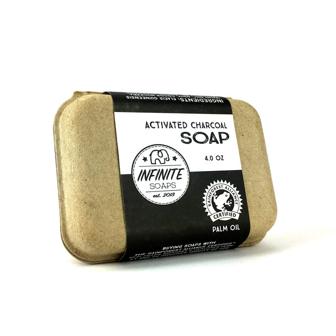 Sustainable, Cruelty-Free & Vegan Activated Charcoal Soap