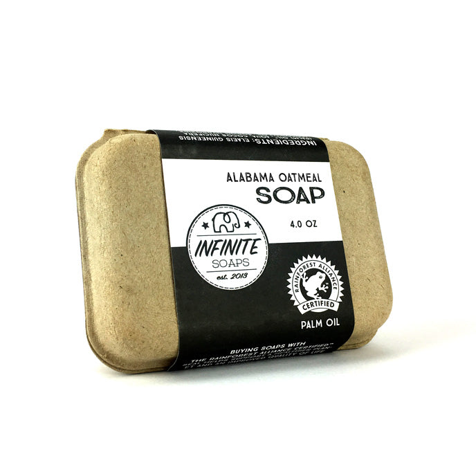 Sustainable, Cruelty-Free & Vegan Alabama Oatmeal Soap