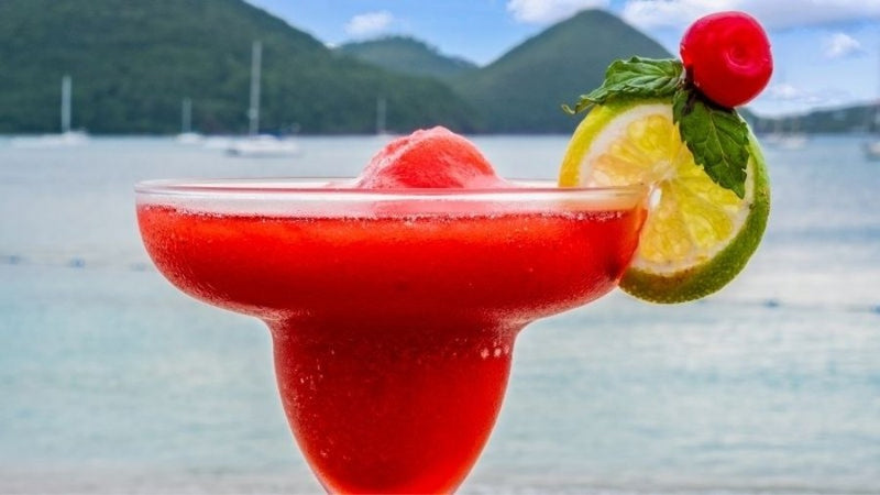 Frozen Strawberry Daiquiri Cocktail Recipe