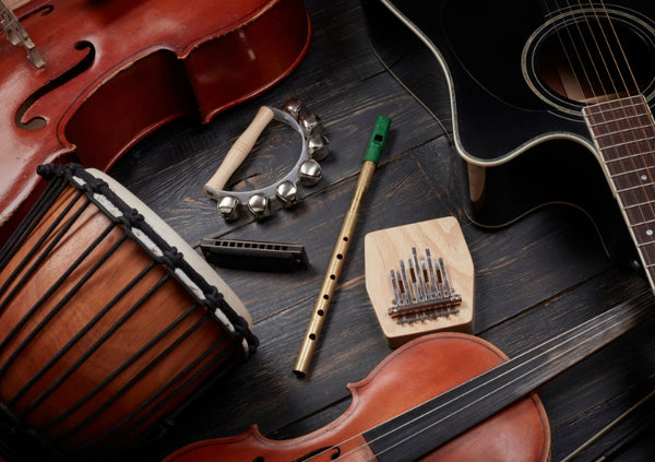 music instruments that don't break the bank
