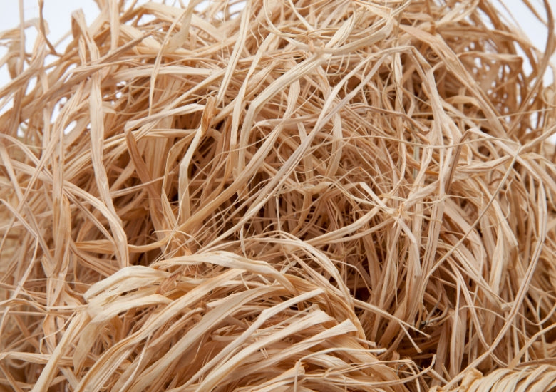 natural eco raffia straw