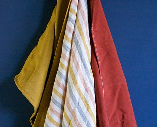 handmade tencel tea towels by Agnes LDN