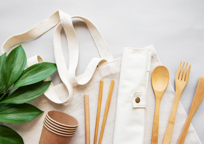 Natural material products bamboo clay cotton and more