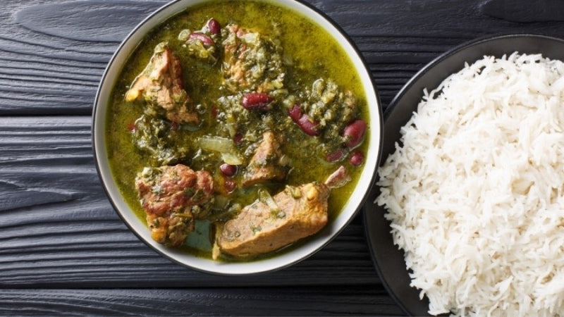 Persian Ghormeh Sabzi Recipe