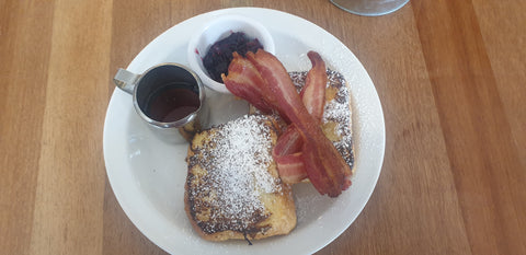French toast from honeypot cafe, hove