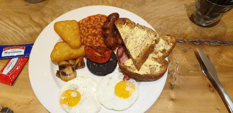 full English breakfast cafe 97
