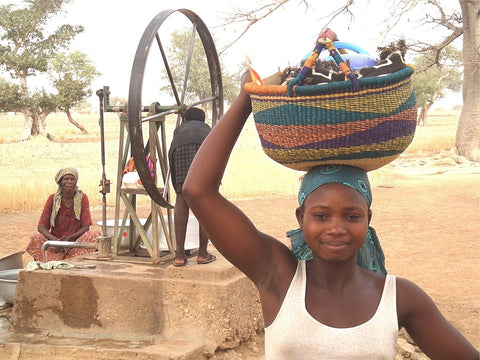 fairtrade producer image with a basket