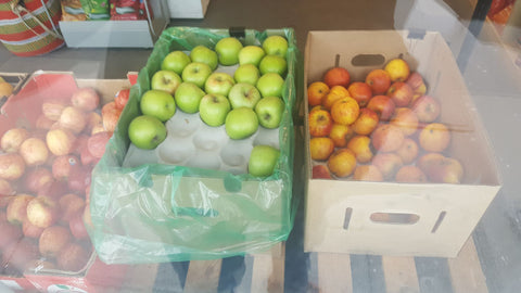 greengrocers fresh produce fruit apples