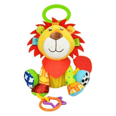 Colourful lion teething toy