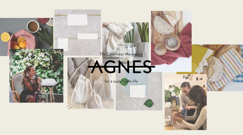 Agnes LDN photo collage