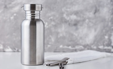 Stainless steel eco bottle