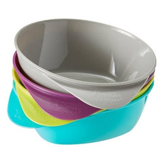 Tommee Tippee Feeding Bowls 7m+ ( Pack of 4)
