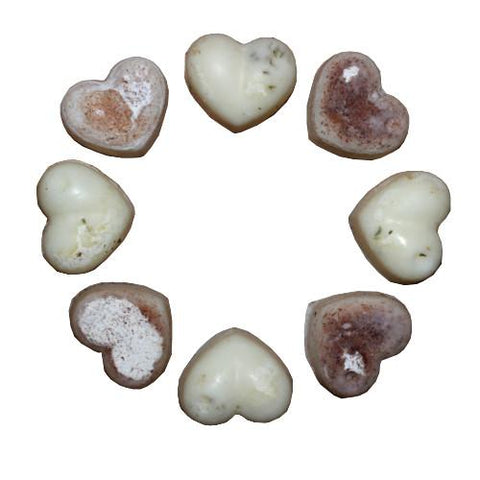 essential oil heart wax melts