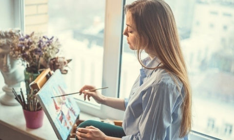 painting as a hobby