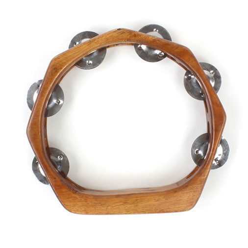 Indonesian Tambourine - Carved Culture