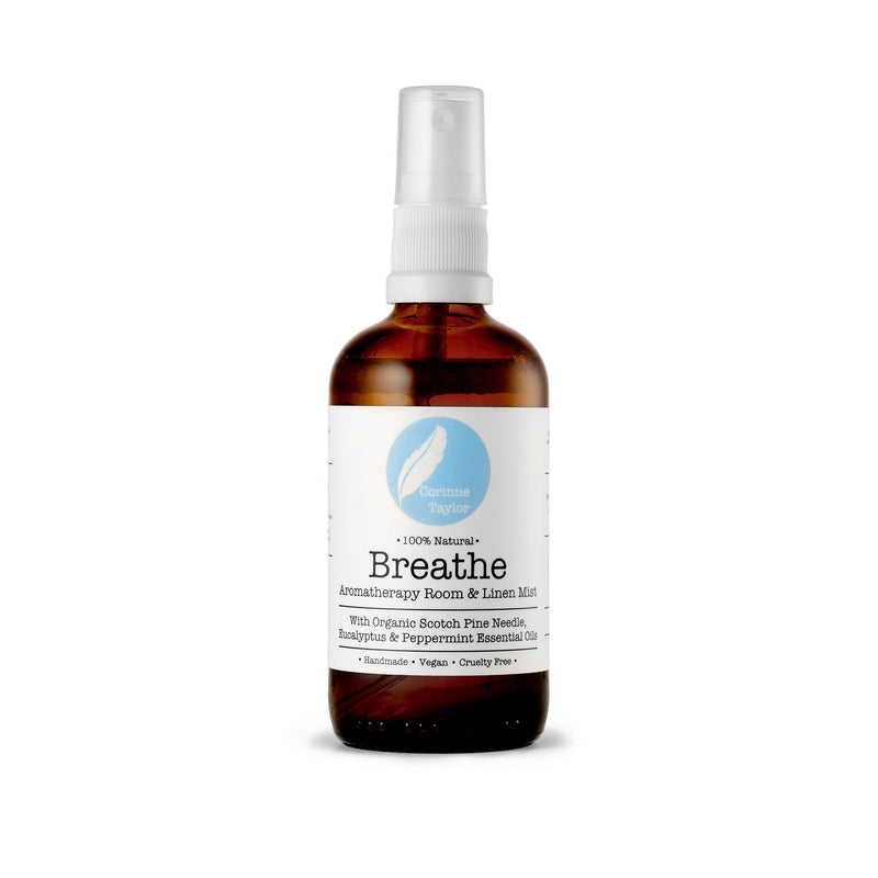 Breathe Aromatherapy Room & Linen Mist - Carved Culture