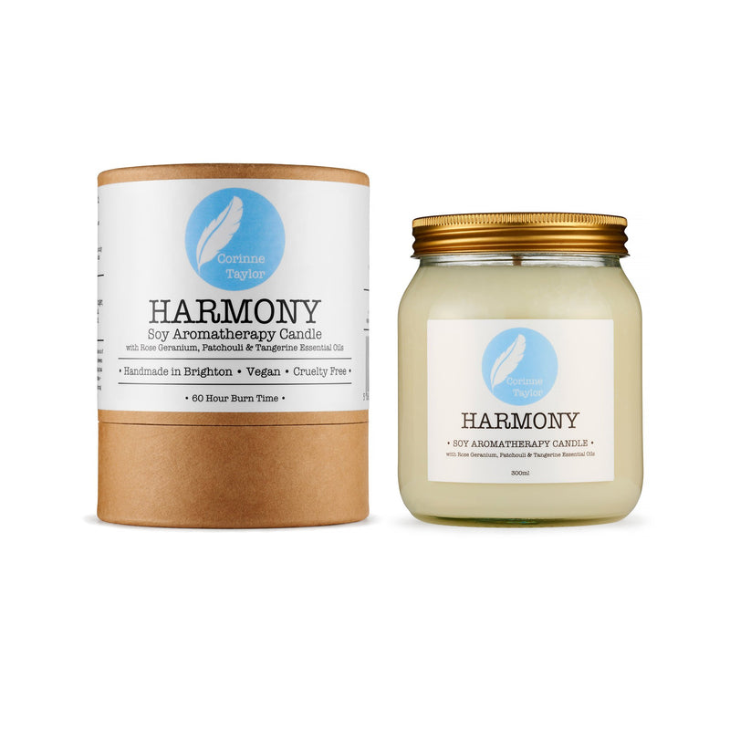 Harmony Soy Aromatherapy Candle - Carved Culture