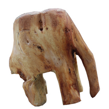 Load image into Gallery viewer, Norweigan Spruce Elephant Figure - Carved Culture