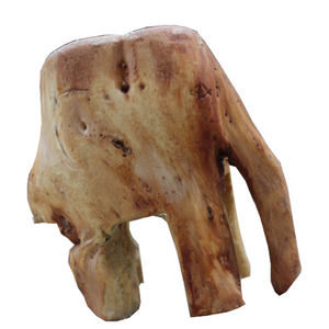 Norweigan Spruce Elephant Figure - Carved Culture