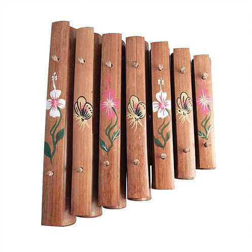 7 Note Rindik Xylophone - Carved Culture