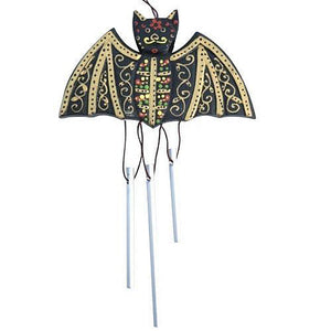 Bat Windchime - Carved Culture