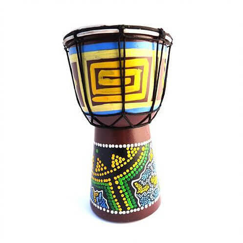 Djembe Drum [25cm] - Carved Culture