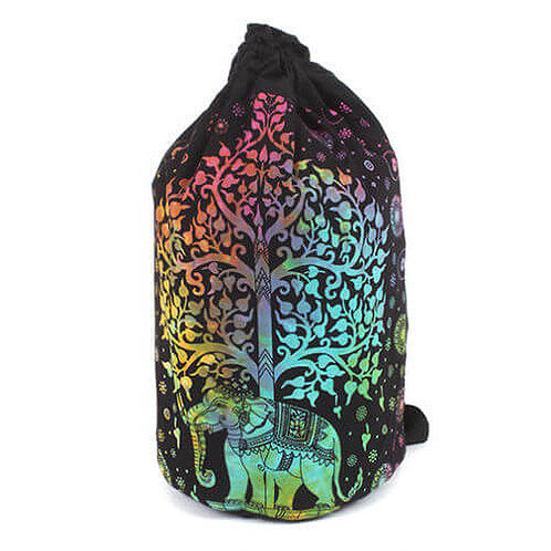 Elephant Tree Backpack - Carved Culture